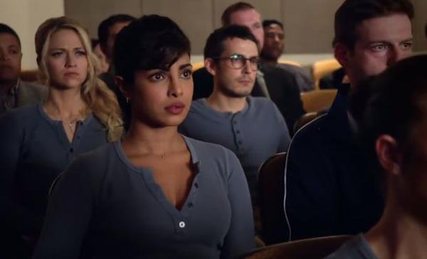 Priyanka Tweets A Trailer of Quantico