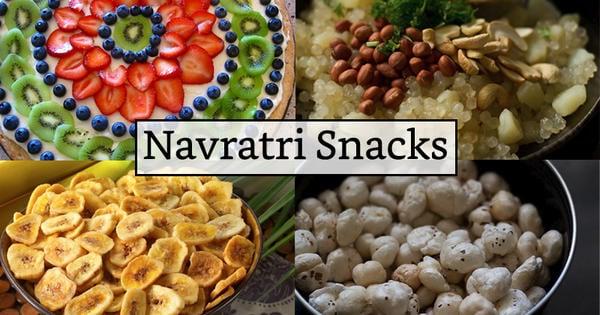 5 Yummy Snacks for Navratri