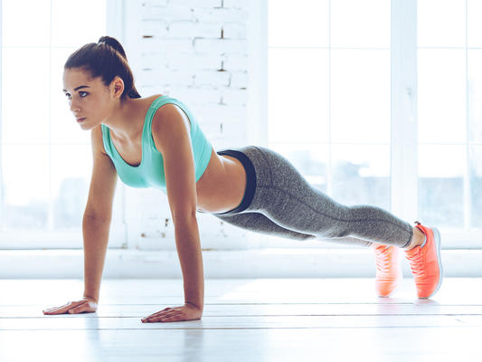 Flatten Those Abs With Planks!