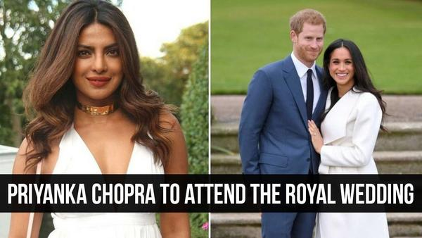 Priyanka Chopra Is Set to Attend the Royal Wedding.