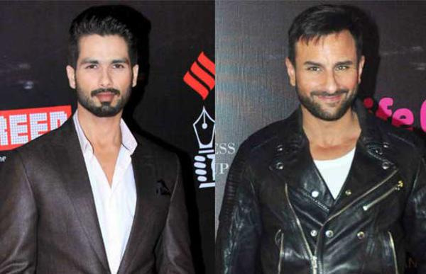 Shahid Kapoor and Saif Ali Khan: Working Together!