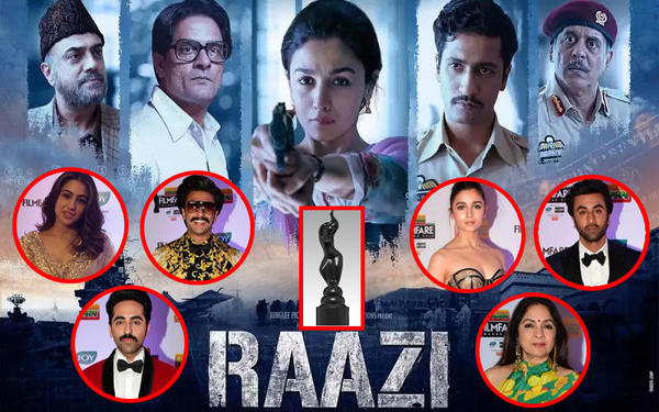 Filmfare Awards 2019 - the Big Winners