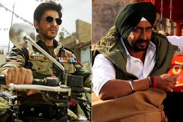 Shahrukh Vs Ajay Devgn: Who Will Rule This Divali?