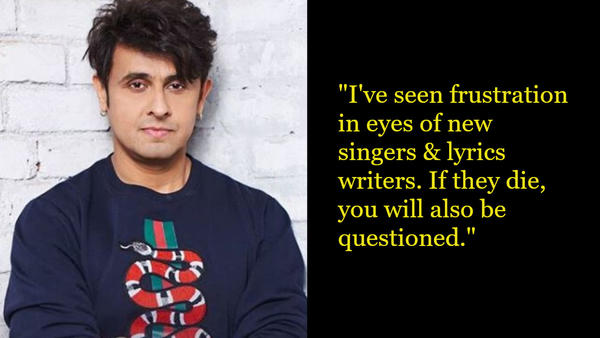 Sonu Nigam Calls Out the Music Mafia - Who is He Talking About?
