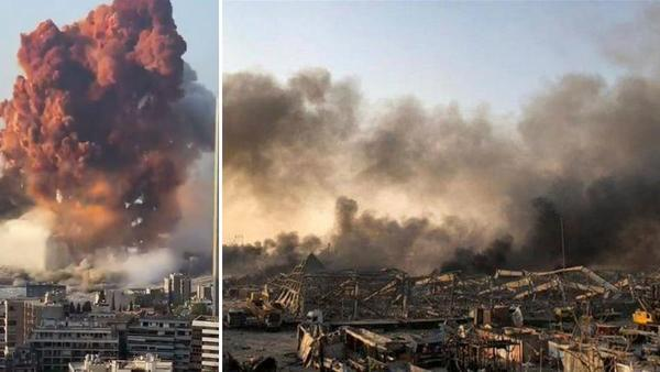 Shocking Images of the Explosion that Rocked Beirut