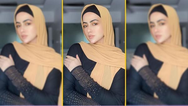 Sana Khan Quits Entertainment Industry!