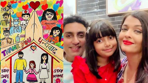 Aradhya Bachchan Thanks COVID Warriors in This Cute Way