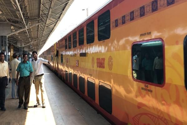 Meet Uday, the new Luxury Double Decker Train from Indian Railways