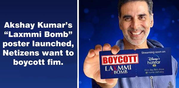 Twitter Calls For #BoycottLaxmmiBomb Soon after the Trailer is Released