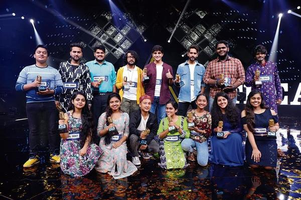 These are The Top 15 of Indian Idol 12