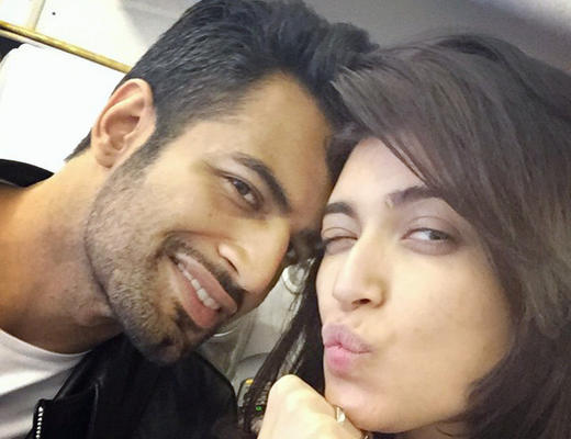 Karishma and Upen Sign Their First Film Together!