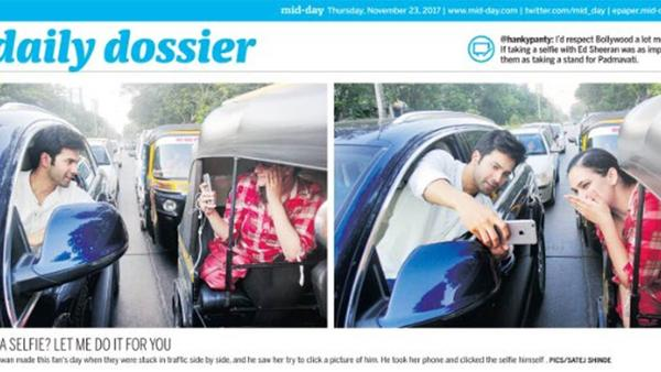 Varun's Selfie Lands Him in Trouble With the Police!