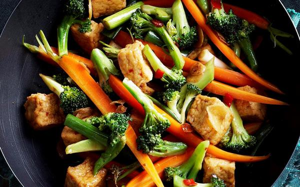 Stir Fry - Healthy Comfort Food for Winters