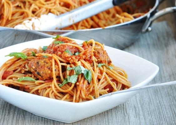 Vegan Spaghetti and (No)Meatballs Recipe