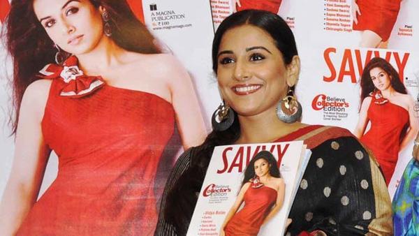 Vidya Looks Hot On Magazine Cover
