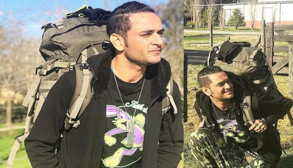 Vikas Gupta Gets Bitten by a Python!!!