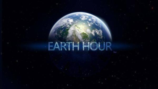 Cut short of electricity in support of 10th Earth hour initiative.