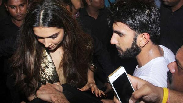 Pics of Ranveer-Deepika at the Ambani Ganeshotsav Prove They are an Item Forever!