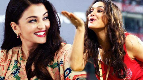 Preity has a crush on Aishwarya