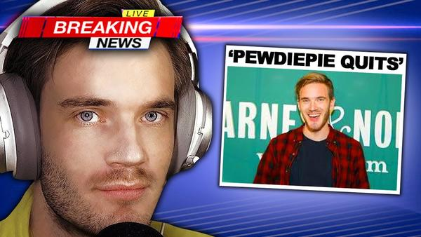 End of Story for #PewDiePie?
