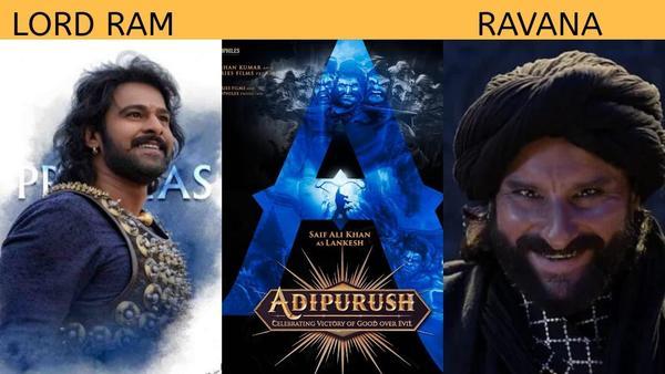 Adipurush - Excited to Watch Saif Ali Khan's Ravan Opposite Prabhas as Lord Ram?
