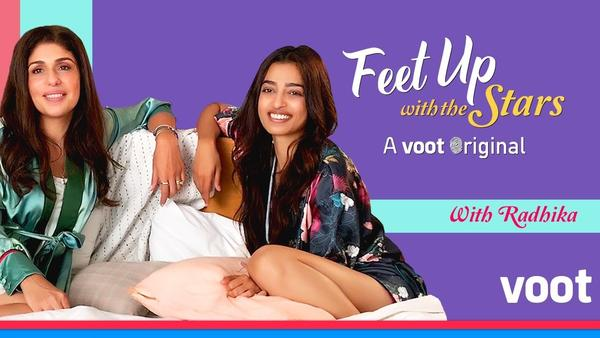 Radhika Apte's Confessions in Feet Up With the Stars!
