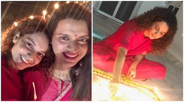 Kangana's Diwali Pictures Show She is Just Like the Rest of Us!