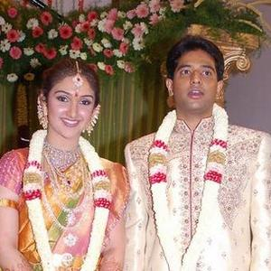 Beautiful Couple Sridevi Vijayakumar and Rahul Pic