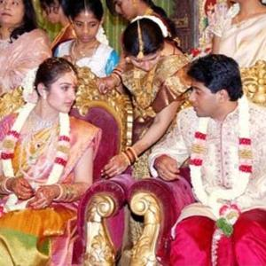 Sridevi Vijayakumar and Rahul Marriage Pics