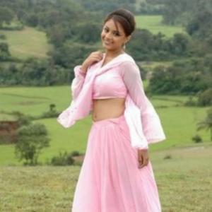 Suhani Kalita Pink Dress Stunning Pic