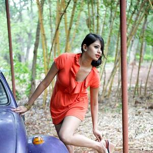 Telugu Actress Deepa Sannidhi Hot In Spicy Photoshoot