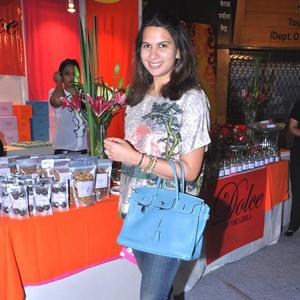 Laila Mallya At Sahachari Foundation Annual Shopping Festival
