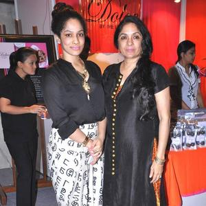 Masaba And Neena At Sahachari Foundation Annual Shopping Festival