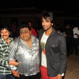 G.Nageswara,Chakri and Vishnu Spotted at Denikaina Ready Audio Release Function