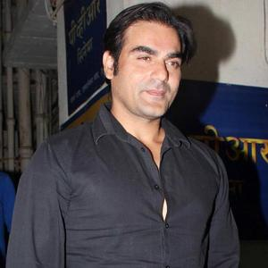 Arbaaz Khan Present At Student Of The Year Screening