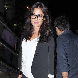 Chitrangada During The Screening Of SOTY Movie