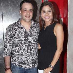 Mihir And Manini Mishra At Student Of The Year Screening