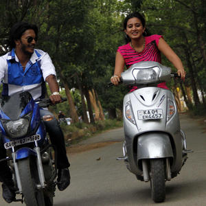 Shriki And Harshita A Still From B3 Love You