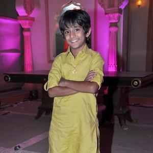A Kid Television Star Posed For Camera On The Sets Of Yeh Rishta Kya Kehlata Hai