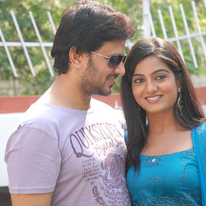 Raja And Sruthi At Chowrastha Movie Launch