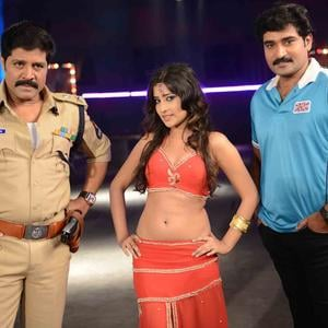 Sri Hari,Rajiv And Priyamani A Still From Thikka Movie