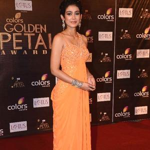 Akanksha Nice Look Photo Clicked At The Colors Golden Petal Awards 2012