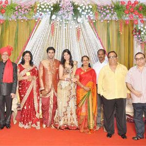 Satish And RajKumar Give Their Blessing To The Couple