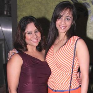 Sai With Tina Nice Look At Sharbani's Birthday Bash