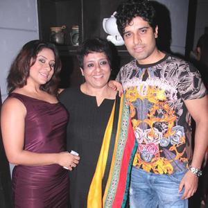 Sai,Sharbani And Shakti Pose For Click At Sharbani's Birthday Party