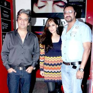 Lucky And Hubby Mohomed Snapped At The Screening Of Balak Palak