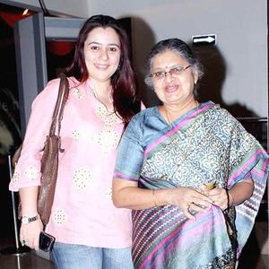 Shrishti With Mom-In-Law Sulbha Spotted At The Screening Of Balak Palak