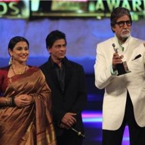 Amitabh Received A Special Award During 19th Annual Colors Screen Awards