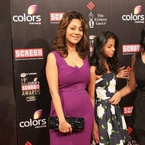 Gauri Smiling Pose For Camera At 19th Annual Colors Screen Awards