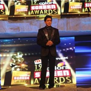 Shahrukh Photo Clicked At 19th Annual Colors Screen Awards